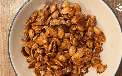 Lekkere snack: pompoenpitten
