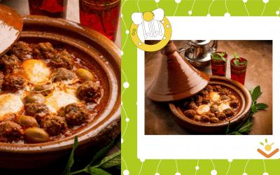 Marokkaanse Tajine met gehakt en ei