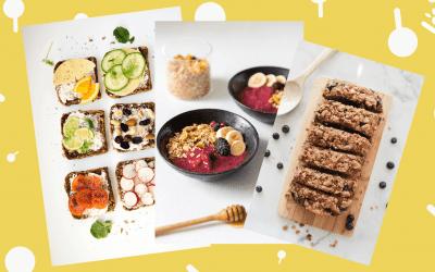 3 ontbijtjes voor Het Nationale Voorleesontbijt